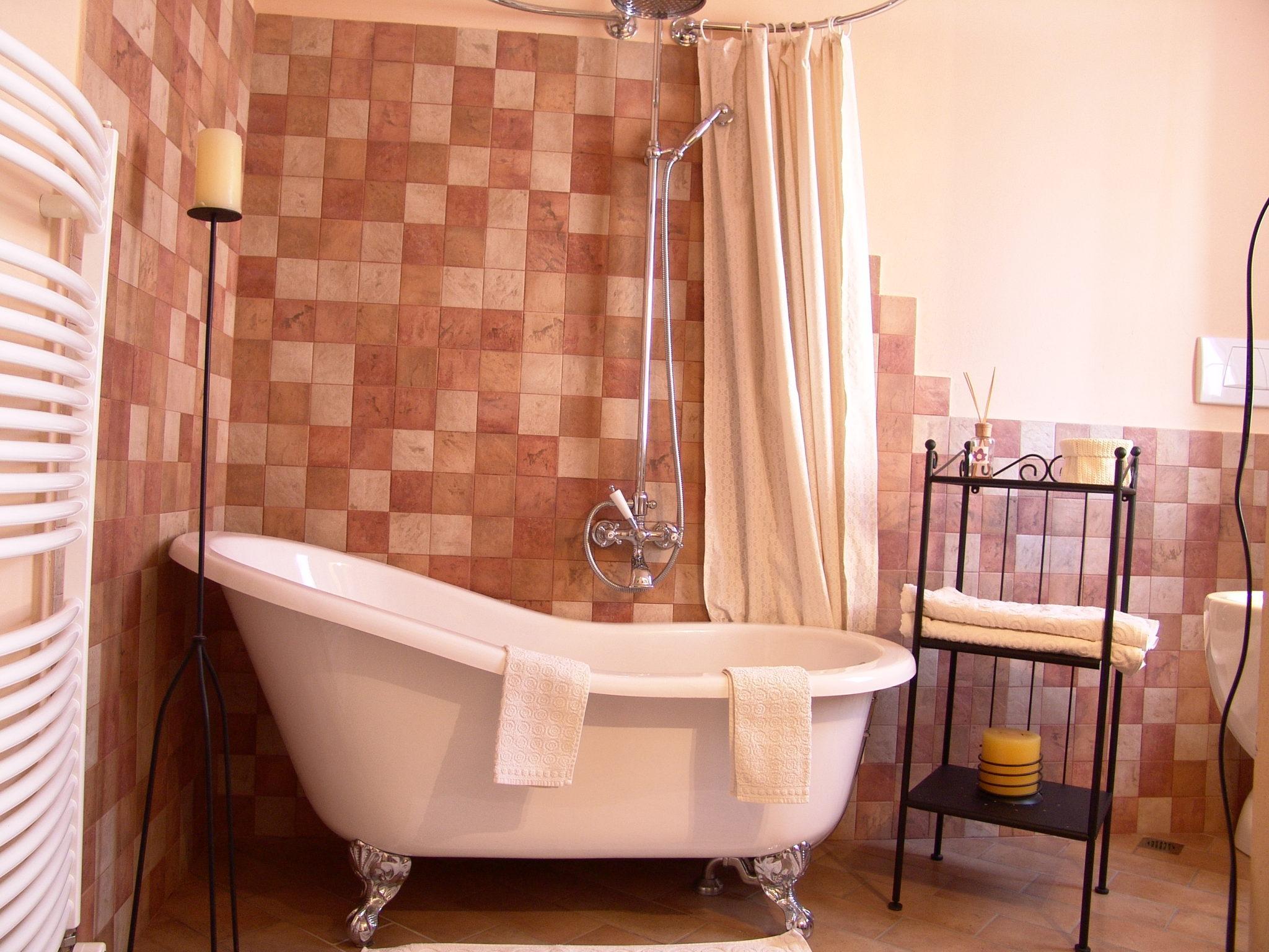 bagno in camera al B&B il Casale di san giovanni in marignano