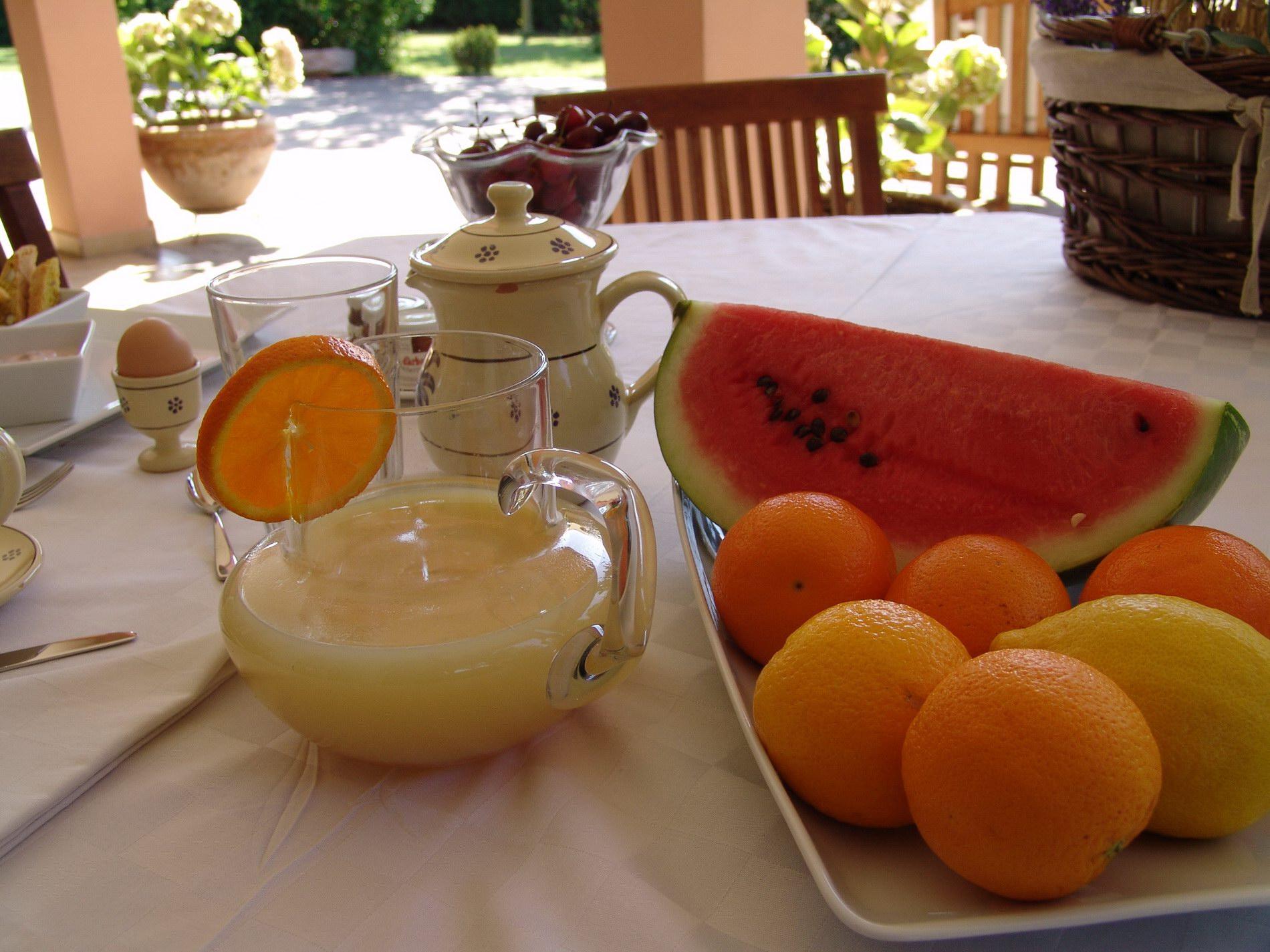 colazione B&B il Casale San Giovanni in Marignano