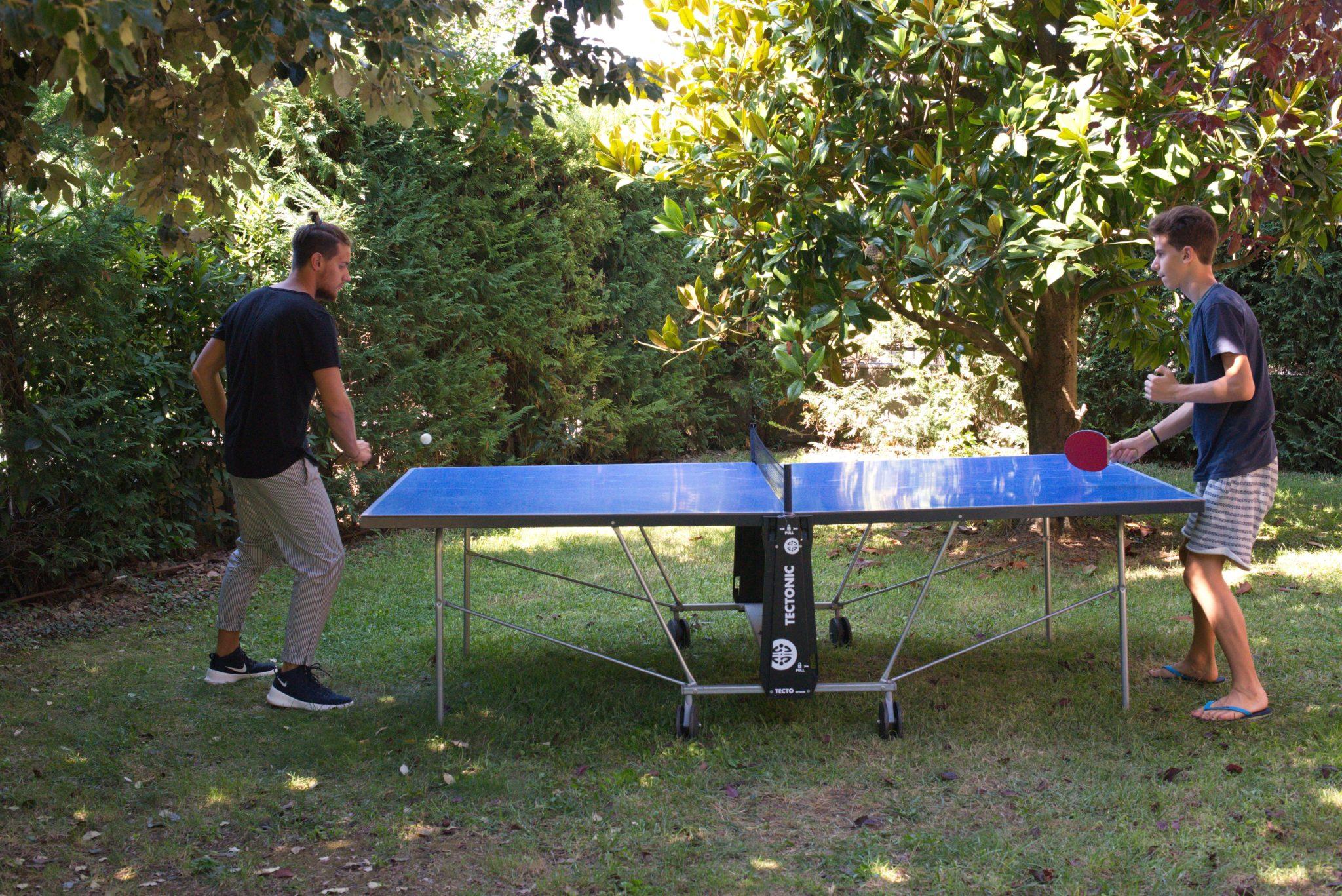 ping pong al B&B il Casale